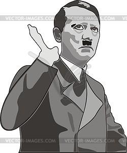 Hitler clip art.