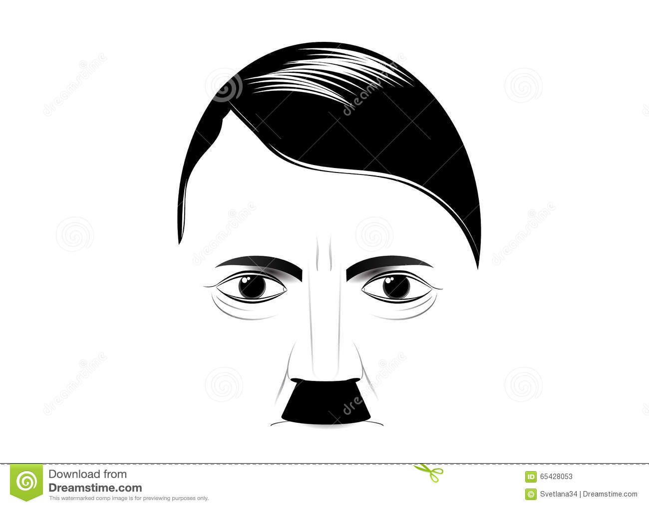 Hitler Stock Illustrations.