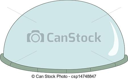 EPS Vector of A dome csp14748847.