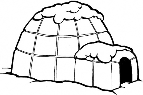 Dome house clipart.