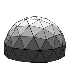 Buy Economical Geodesic Dome Greenhouse Kits (PEB): 2012.