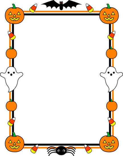 Free Halloween Page Borders, Download Free Clip Art, Free.