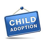 Child adoption clipart.