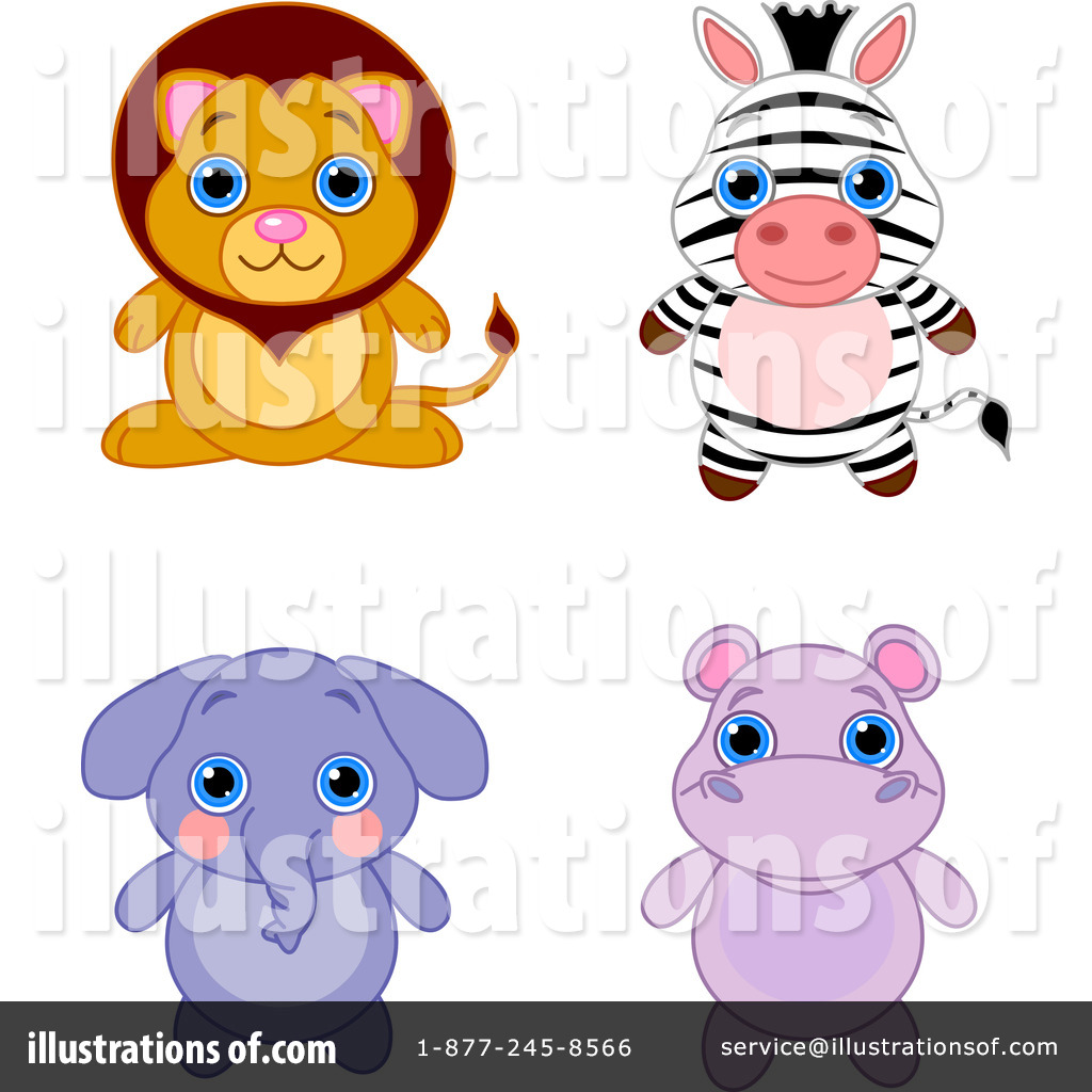 Adorable Animals Clipart #96184.