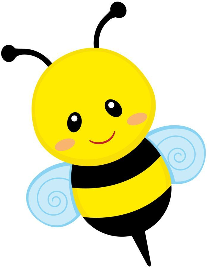 Cute Bumble Bee Clipart.