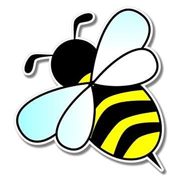 Amazon.com: Cute Bumble Bee Vinyl Sticker.