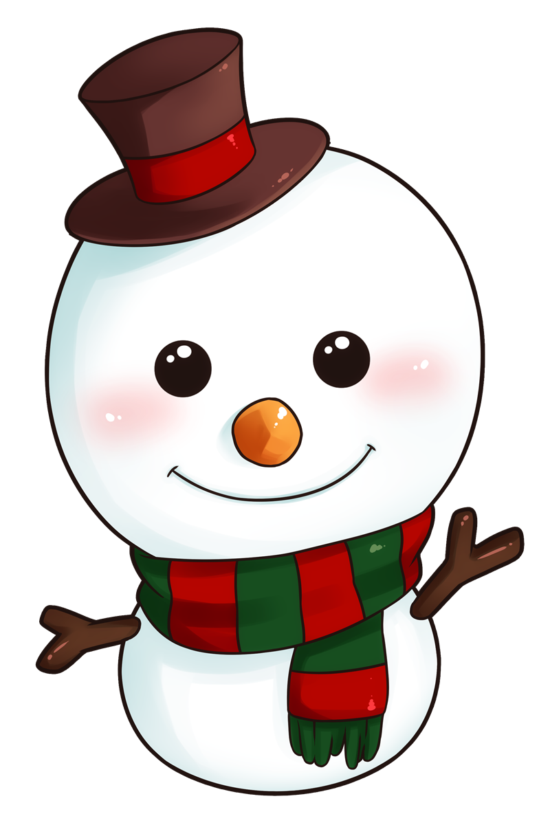 cute snowman clipart png #10