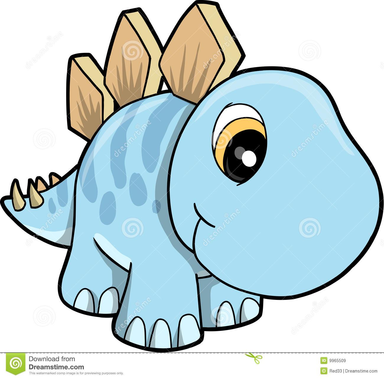 Dinosaurs Clipart Cute.