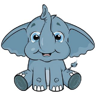 Free Cute Cartoon Elephant, Download Free Clip Art, Free.