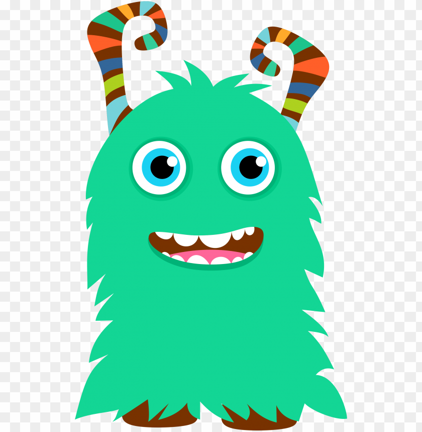 cute monster PNG image with transparent background.