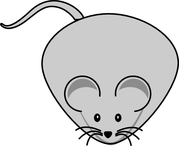 Adorable Mouse Filled With Cheese Clip Art at Clker.com.