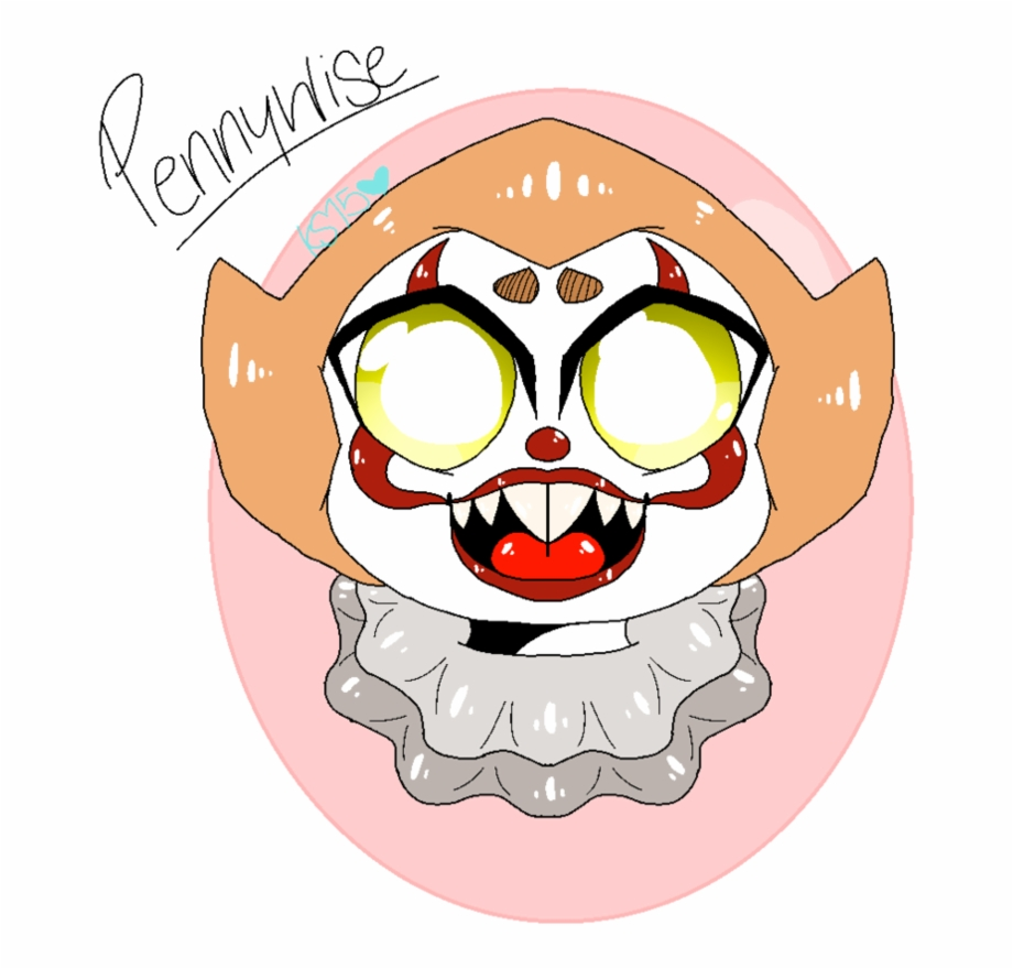 Pennywise The Adorable Clown By Katsmith15 Cartoon.