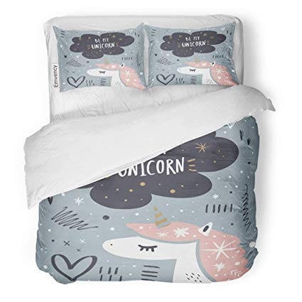 Amazon.com: Tarolo Bedding Duvet Cover Set Pattern Childish.