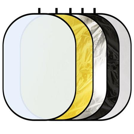 Glow 5 In 1 Collapsible Reflector.
