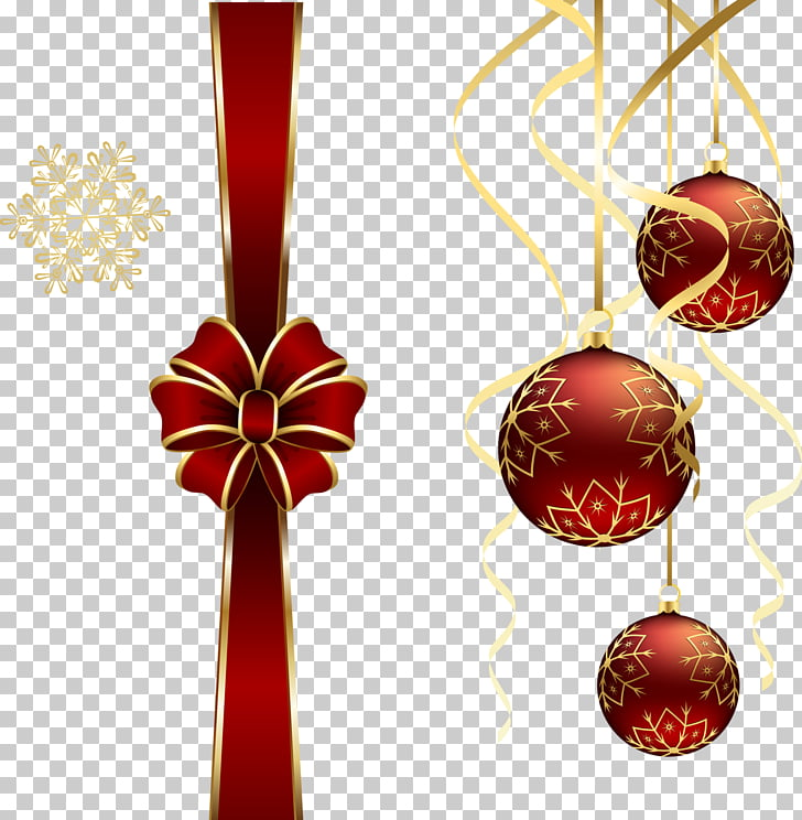 Adornos navideños, creativos tirar los huevos de seda PNG.