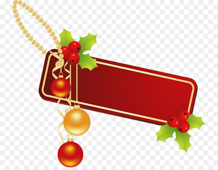 Download adornos navideños png clipart Christmas Day.