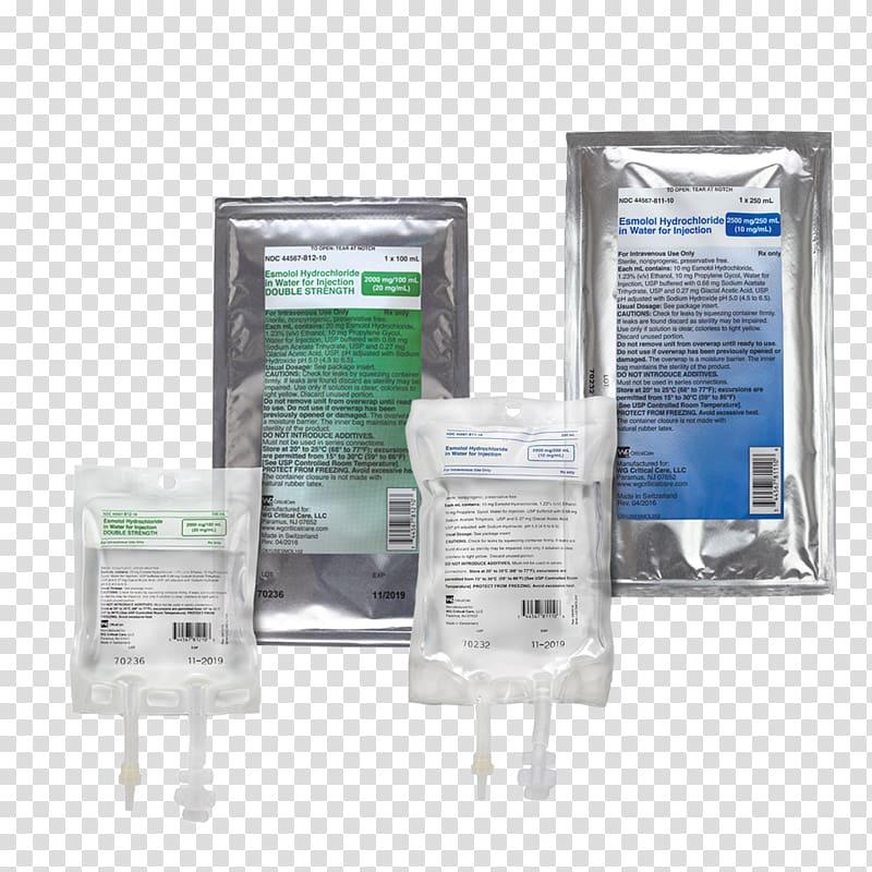 Esmolol Hydrochloride Water for injection Hypertension.