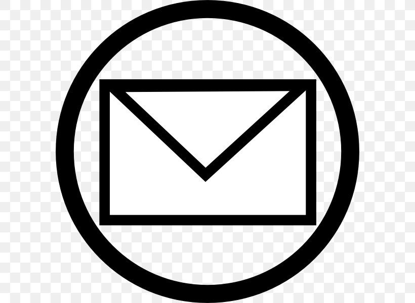 Email Logo Clip Art, PNG, 600x600px, Email, Area, Black.