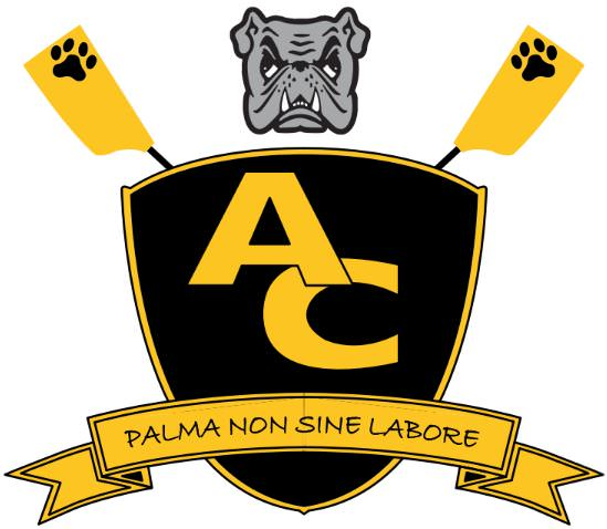 Adrian College Rowing crest.