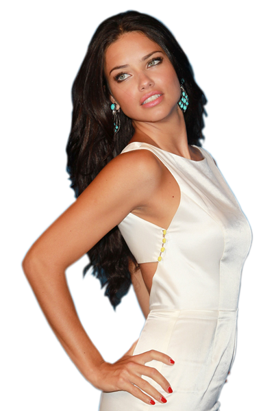 Download Adriana Lima Clipart HQ PNG Image.
