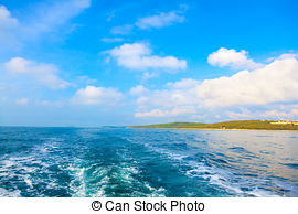 Stock Photography of Photo of the Istrian part of the Adriatic.