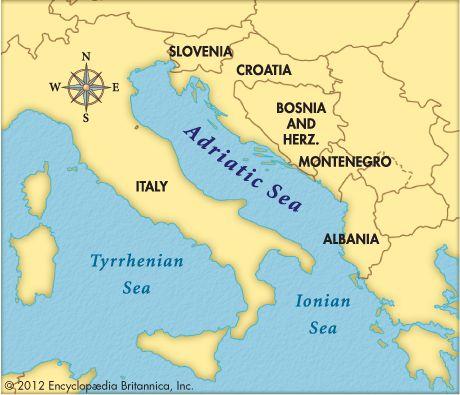 adriatic sea.