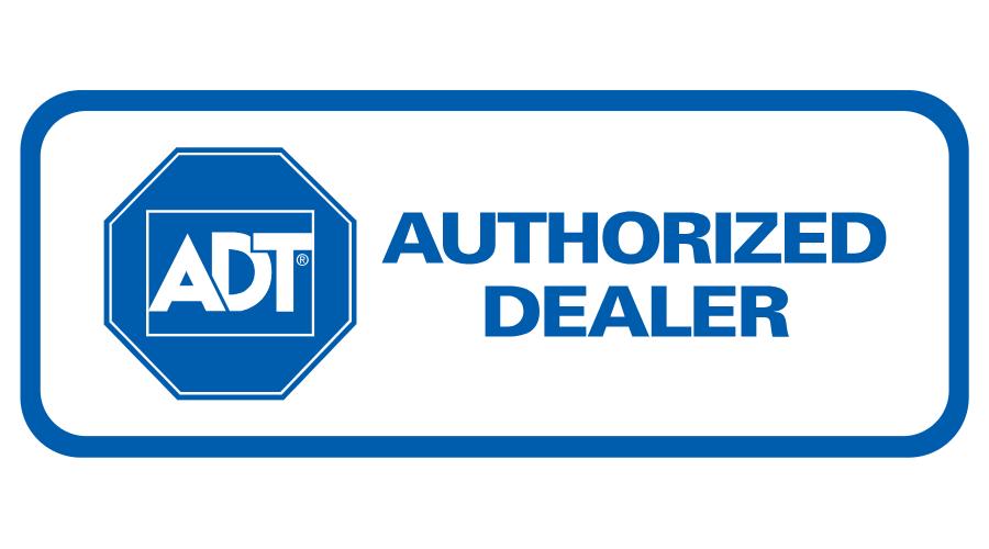 ADT Authorized Dealer Logo Vector.