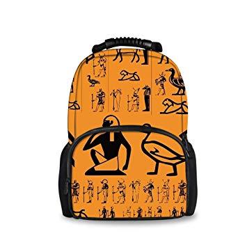 Amazon.com: Stylish Funny Adult Kids Teens School Bags.