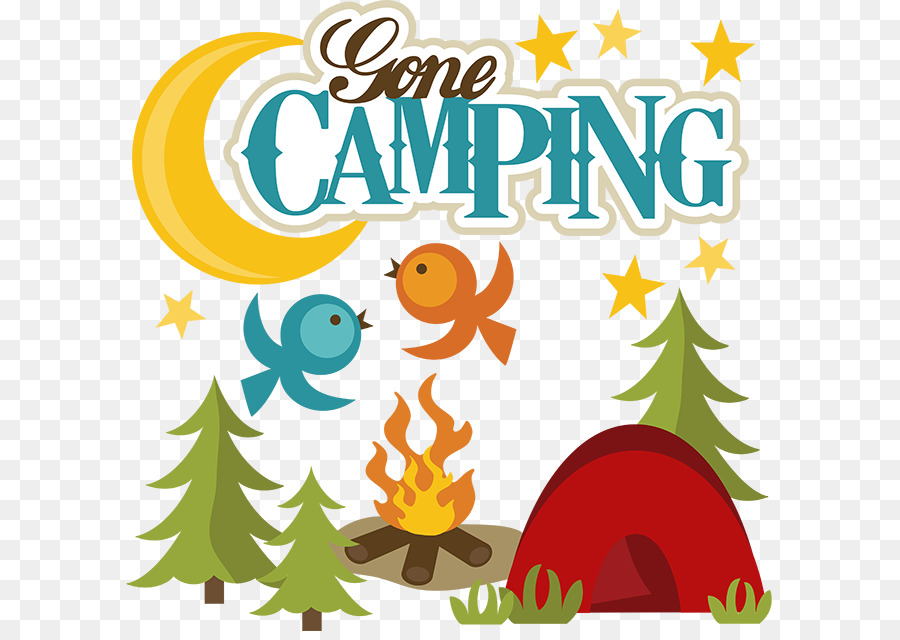 Camping Clipart Transparent Background.