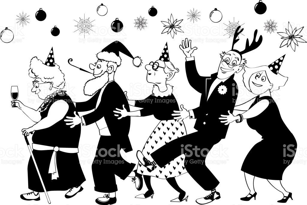 Christmas clip art party.