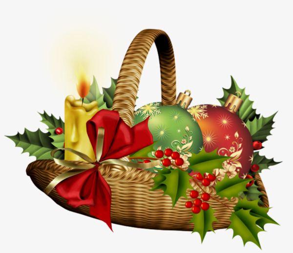 christmas baskets.
