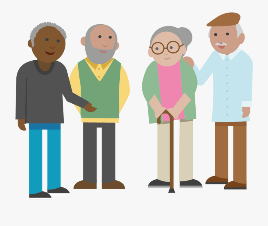 Transparent Older Adults Clipart.