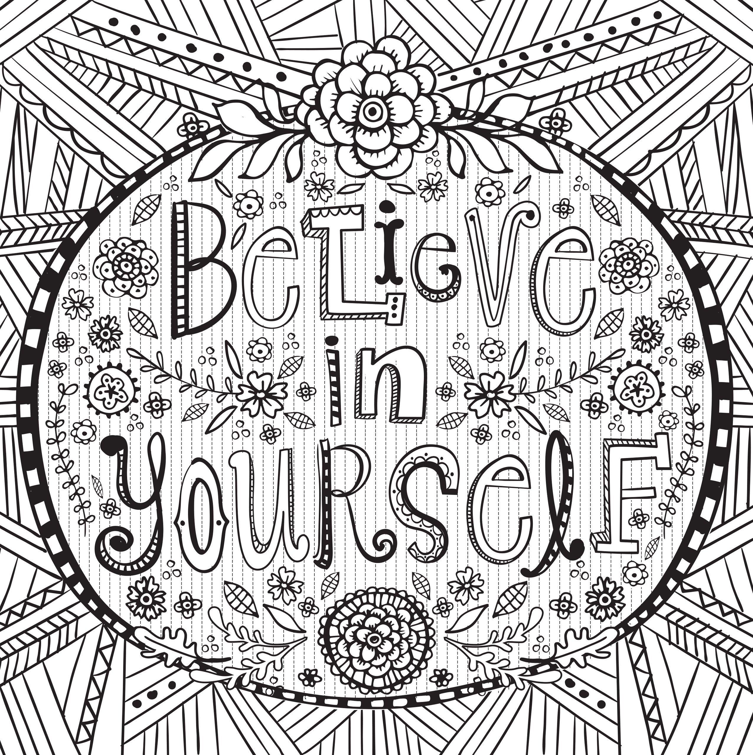 Joyful Inspiration Adult Coloring Book (31 stress.