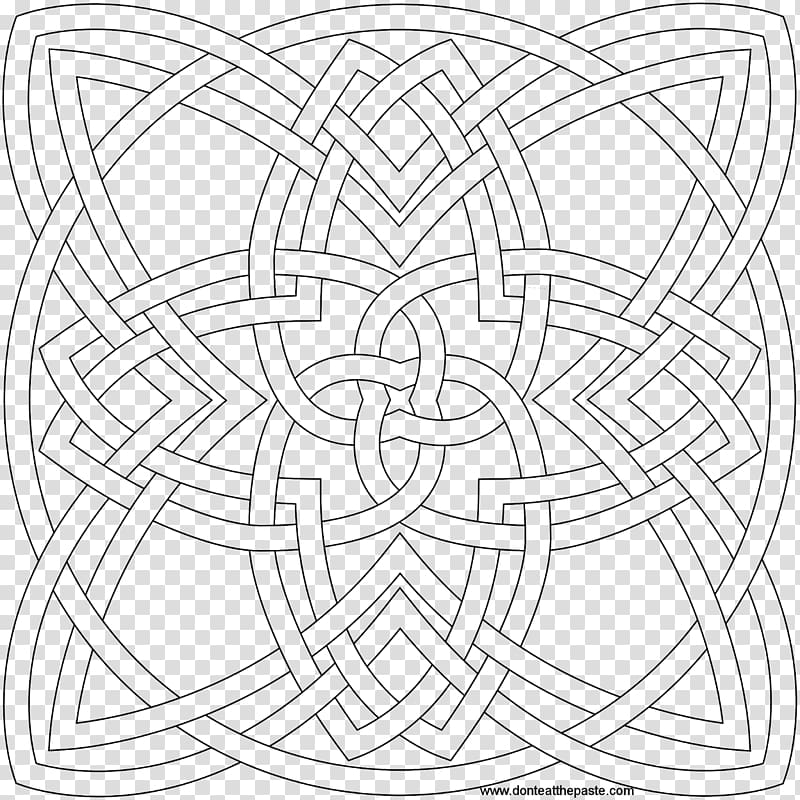Inspiration of Grace: Adult Coloring Book Celtic knot.