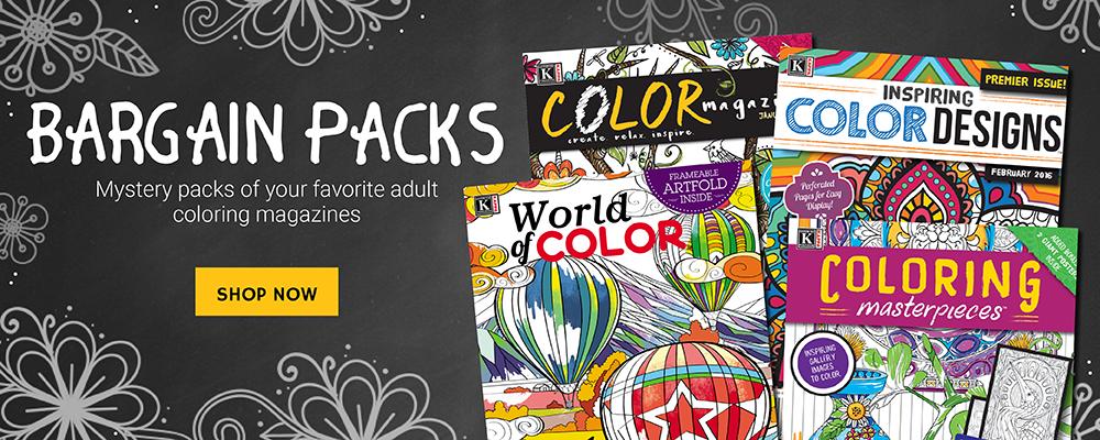 Kappa Publishing Adult Coloring.