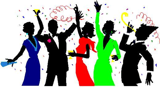 Celebration adult birthday party clip art free clipart image.