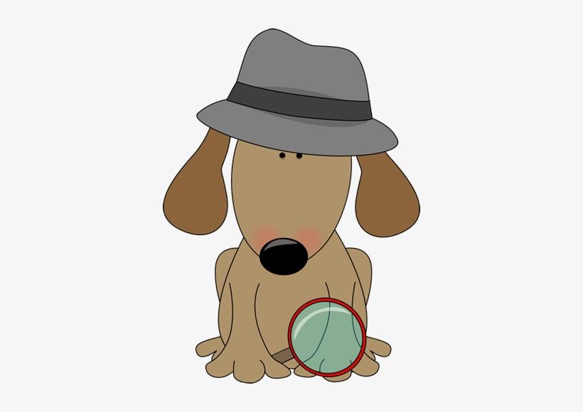 Dog Detective Clip Art.