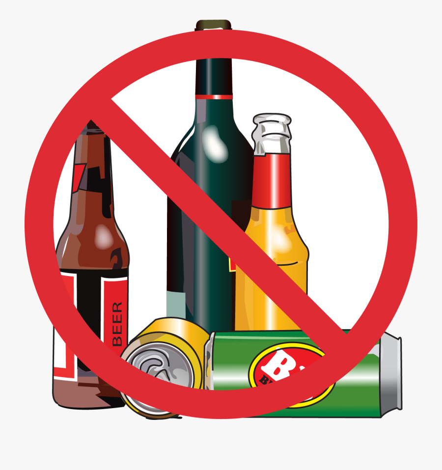Alcohol Free No Drinking Cliparts Clip Art On Transparent.
