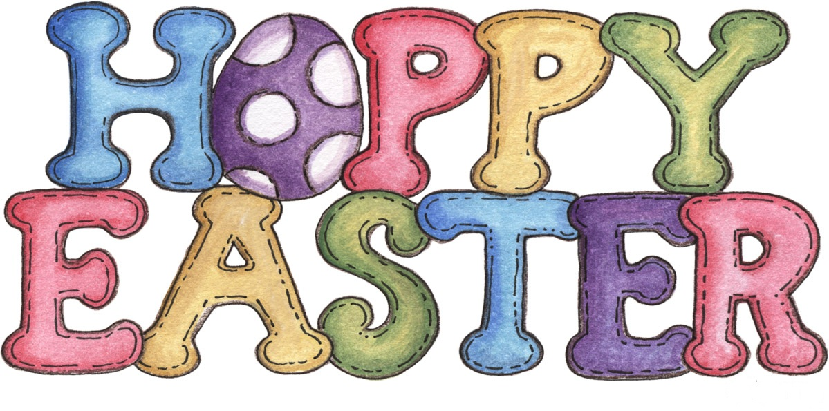 1168 Happy Easter free clipart.