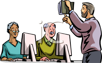 Adult Learning Clipart.