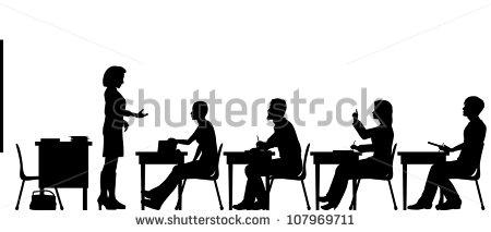 Adult Education Classroom Stock Vectors, Images & Vector Art.