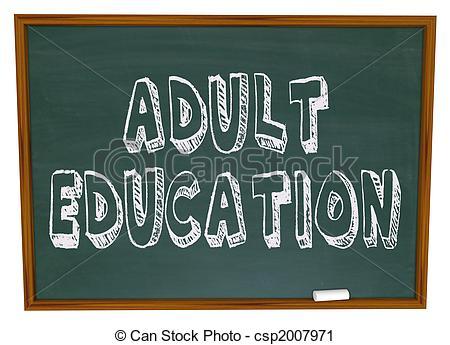 Adult Education Clip Art.