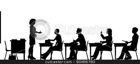 Adult Classroom Clipart.