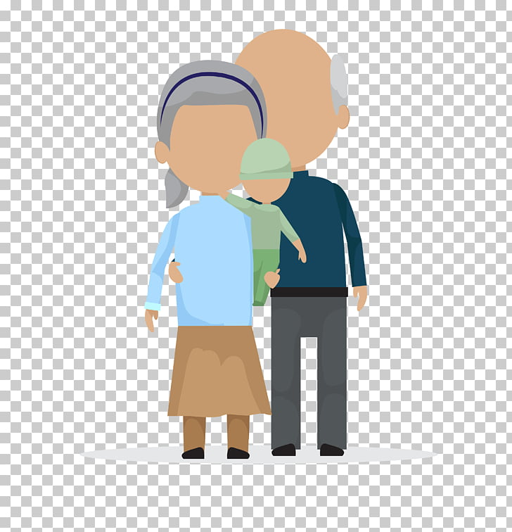 Old age, cartoon adult child PNG clipart.