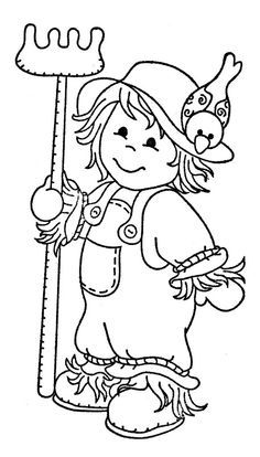 Scarecrow clipart on clip art clip art free and jungle.