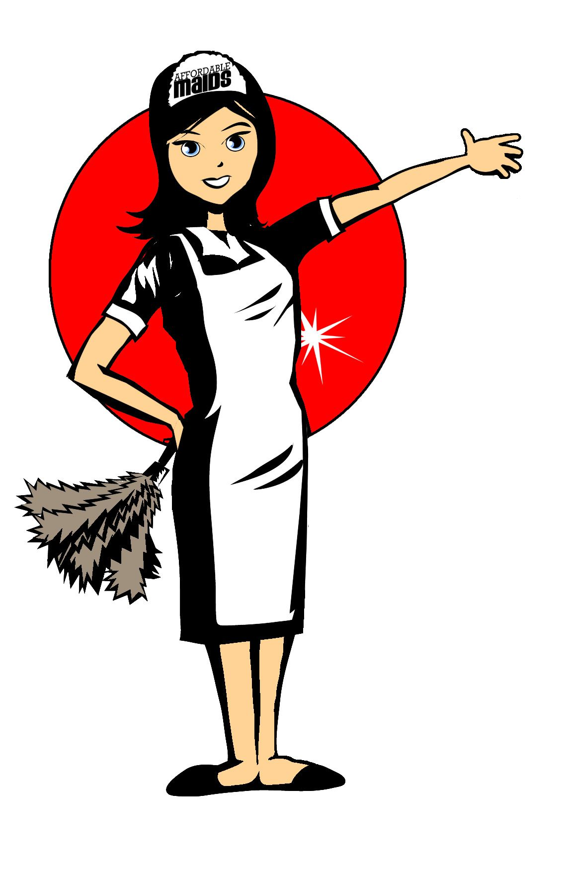 Affordable Maids Cleaning Service.