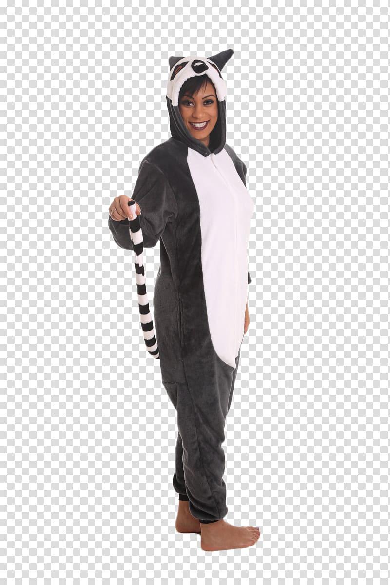 Lemurs Costume Onesie Adult Leopard, leopard transparent.