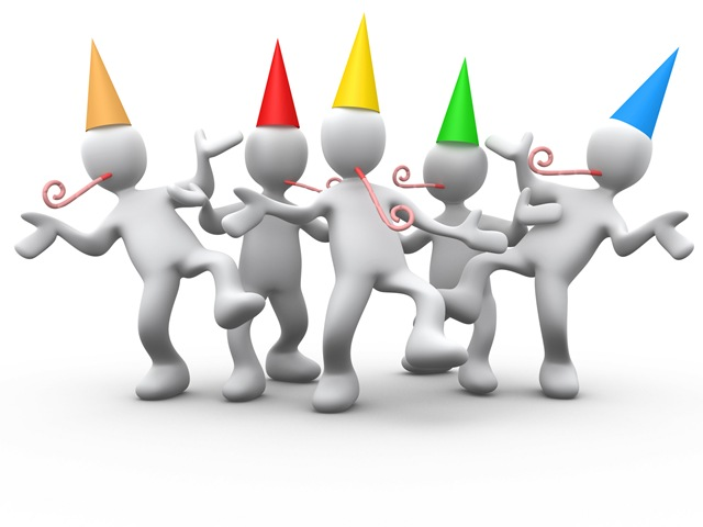 Celebration adult birthday party clip art free clipart.