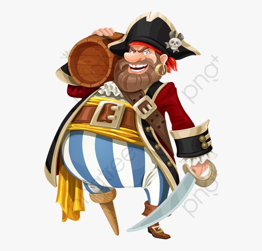 Pirate Clipart Realistic.