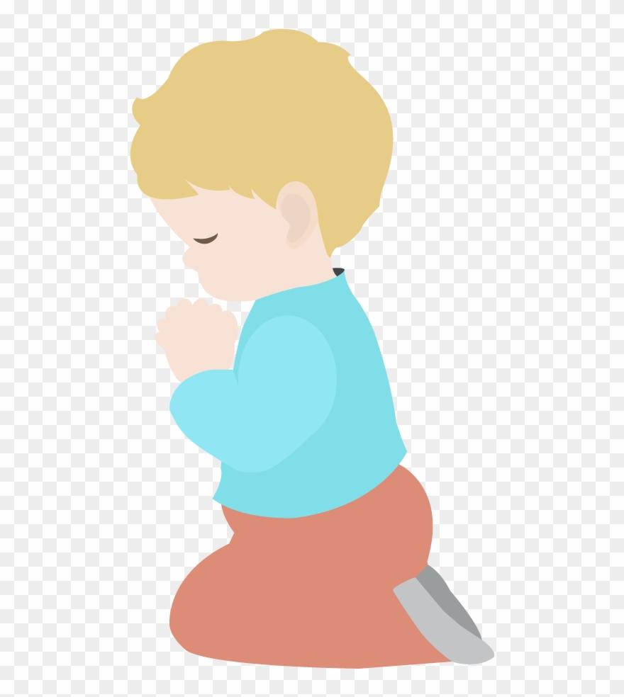 Child Praying Interesting Many Cliparts.